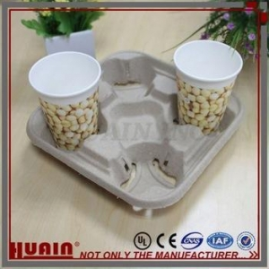 China Molded Pulp paper tray on sale