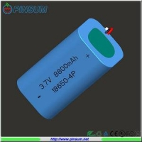 China 18650 battery pack 3.7V 8800mAh lithium battery on sale
