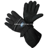 China Rechargeable lithium battery heated gloves / hand warmer Blackpurple heating gloves WM-HG01 on sale