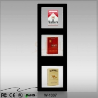 China Floating Cigarette Box Display W-1307 on sale