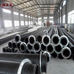 UHMWPE Anti-static Plastic Tube for Dredging&Suction&Discharge