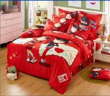 China 2014 high quality cartoon modern bedding set on sale