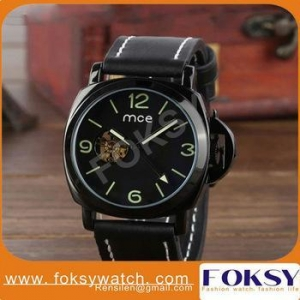 China Luxury skeleton automatic mechanical watch on sale