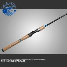 China 2016 newest one section cork handle KAWA s702 lure fishing rods on sale