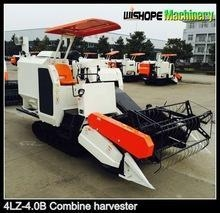 China 4LZ-4.0B gear drive rice combine harvester prices on sale
