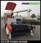 Wheat harvest machine with HST control
