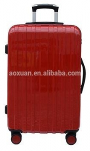 China super light flight luggage bag 2013 popular trolley bag PC trolley case on sale