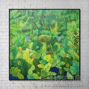 China Customized Flower Modern Abstract Oil Painting for Decoration on sale