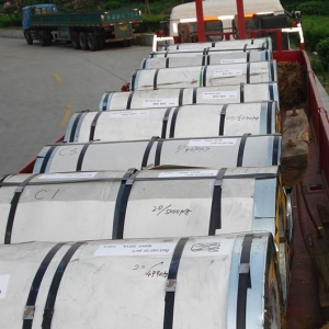 China (SCC008) 321 Cold rolled stainless steel coil on sale