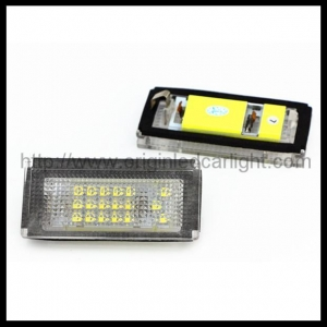 China BMW BMW E46 4D LED License Plate Light on sale