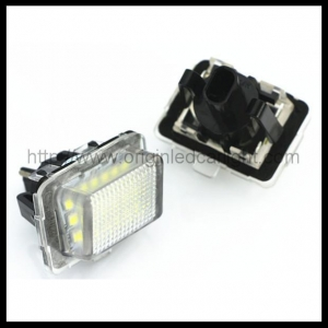 China LED License Plate Light BENZ W204 2011 LED License Plate Light on sale