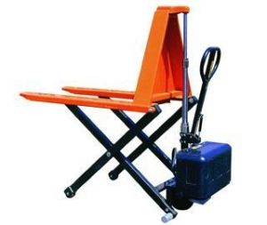 China Electric Scissor Pallet Pruck on sale