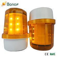 China IP67 Waterproof Revolving Flashing LED Traffic Solar Warning lamp on sale