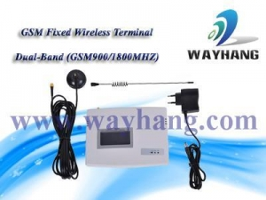 China and Industry security system GSM Fixed wireless terminal/GSM dialer WH-168N/M on sale