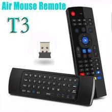China Fly air fly Mouse T3 Keyboard with Ir learning function,Air fly mouse remote on sale