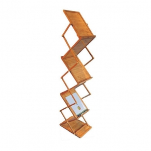 China Bamboo Floding Brochure Stand on sale