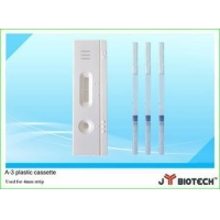plastic cassette for HCG ,Malaria, test A-3