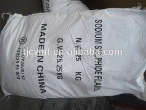 China 60% SODIUM SULPHIDE ; SODIUM SULFIDE on sale