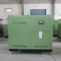 High-pressure piston air compressor