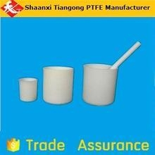China PTFE parts manufacturer of lab polytef ptfe beakers on sale