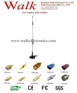 China high gain GSM antenna, 9dbi gsm gprs antenna, Quad Band Antenna, magnet base WK-GSM020 on sale