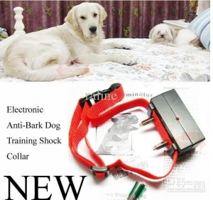 China Anti Bark Dog Control Collar bark stop collar dog Terminator bark terminator 20pcs/lot on sale