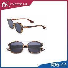 China Half-rim Eyeglasses Acetate &Metal Sunglasses Hot Sale Polarized Sunglasses on sale