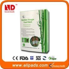 China China supplier wholesale healthcare wood vinegar detox foot patch on sale