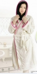 bathrobe RB-02 ,solid color coral fleece bath robe