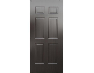 China Balck Walnut Melamine HDF Door Skin 3.0mm/4.0mm on sale