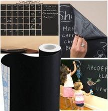 China High Quality Blackboard Removable PVC Wall Sticker Chalkboard Decal Chalk Board Wall Art on sale