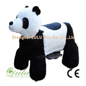 China Walking Animal Rides (big size) big panda electric baby car on sale