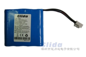 China 18650 mah lithium battery (with plug) on sale