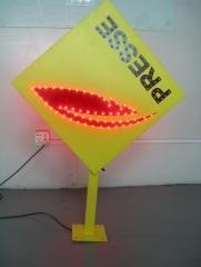 China LED Presse Sign led presse sign outdoor IP65 for news with Infrared remote control led light display on sale