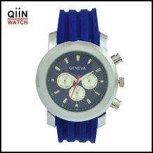 China Geneva Watches QD0146 Fashion Mens geneva watch stainless steel back on sale