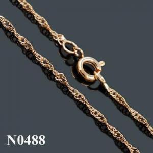 China Necklace 2015 Latest fashion cheap gold chain JOYFAN on sale