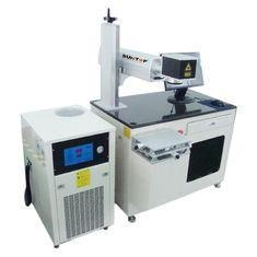 China 200 Hz - 50 Khz Diode Laser Marking Machine For Vacuum Cup And Round Products on sale