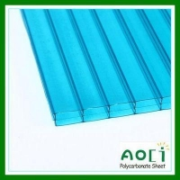 China 10MM Triple Wall Polycarbonate Sheet on sale