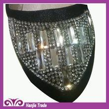 China Guangzhou Newly Crystal Resin Sticker Sheets For Ladies Shoes on sale