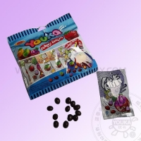 China 020-1 Choco bean filled jelly soft candy on sale
