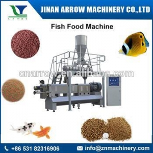 China fish feed extruder/pet food extruder/double screw food extruder machine on sale