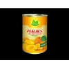 China Fresh foods Canned Yellow Peaches in syrup for sale