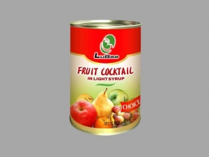 China Fresh foods Canned Fruit Cocktail in syrup on sale