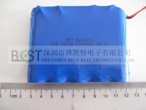 China Li-PO battery pack Li-ion 18650 2200mAh 18.5V Cylindrical Rechargeable Battery Pack on sale