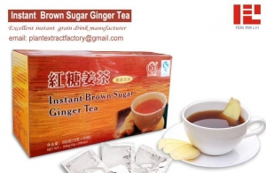 China Instant Granulated Drink Instant Brown Sugar Ginger Tea on sale
