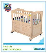 China BABY FURNITURE Drawers baby cots, wooden baby cribs with wheels on sale