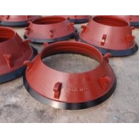 China Casting Wearing parts high wear resistance cone crusher bowl liner on sale