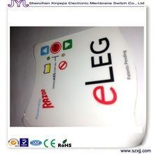 China Membrane switch custom membrane keypad switch / graphic overlay / control panel on sale