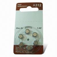A312/PR41 Zinc air Battery