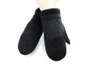 China Mittens Basic Men Leather Gloves With Sheep Leather Black on sale